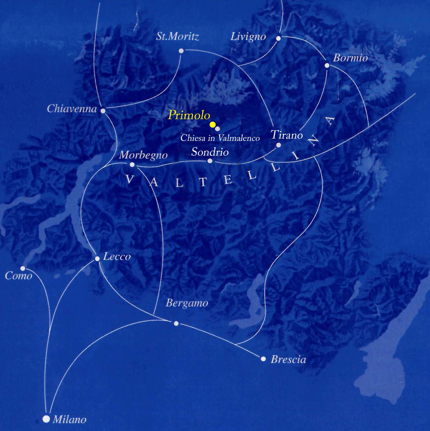 Mappa Primolo
